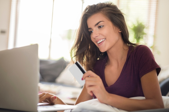Shopping online is much more easier and faster